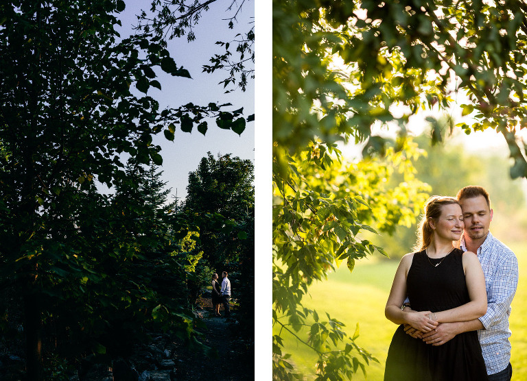 Barriefield Rock Garden engagement 04